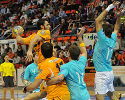 The Spanish Aragon secured their place against Belenenses