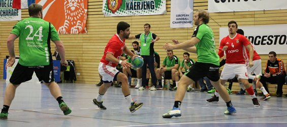 """Playing the EHF Cup Group Phase is ideal in this respect."""" S.L. Benfica ... 2af1aed0b0a2c"""