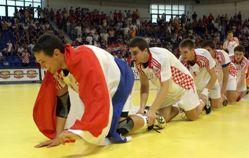 Croatian joy in Podgorica