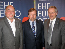 Per Rasmussen, Tor Lian and Per Otto Furuseth (left to right)
