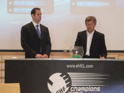 The first draw of the season assisted by FC Porto manager, Manuel Arezes