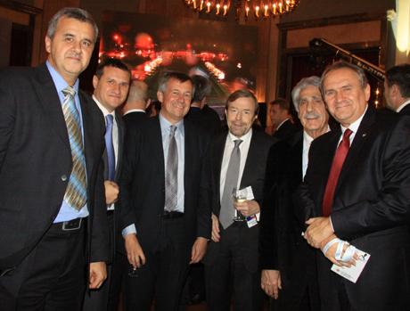 Bozidar Djurkovic, Velimir Marjanovic, Michael Wiederer, Tor Lian, Charalambos Lottas and Andrzej Krasnicki