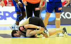 Handball injuries will be in the focus at the Sport Medical Conference