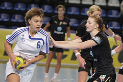 Kochetova, one of the Dinamo talents