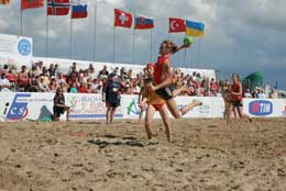 The last Beach Handball ECh in Italy