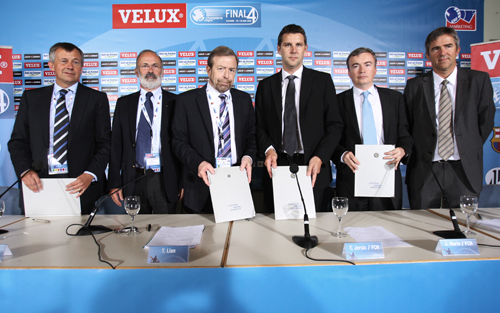 From left to right: M. Wiederer, J. Brihault, T. Lian, T. Jersic, J. Marin, G. Butzeck