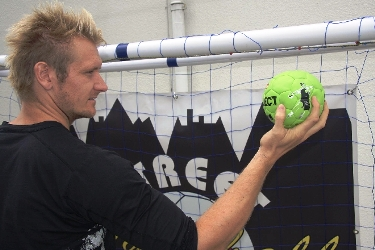 Lasse Boesen is one of the creators of Street Handball