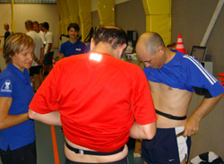 Professional testing for the referees