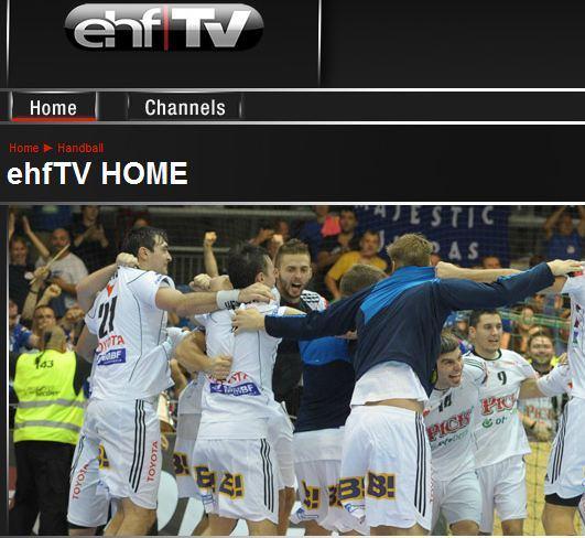 ehf handball live stream