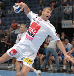 In the 2nd half Cozma played key role in Veszprém's victory