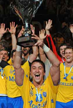 The biggest trophy of Ilic, EHF Cup victory in 2009