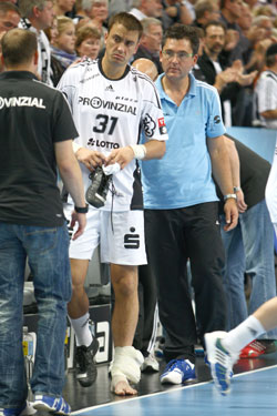 Ilic injured during the last game