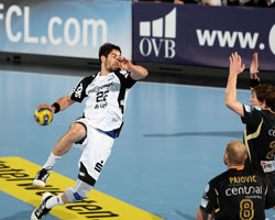 Karabatic was in top form again