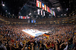 Perfect setting for handball - World Championship Final in 2007