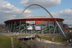 Lanxess Arena, a landmark of Cologne