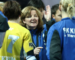 RK Krim Mercator Coach Marta Bon is optimistic.
