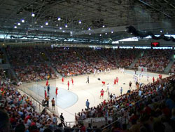 The men's CT will be played in the brand new Veszprém Arena