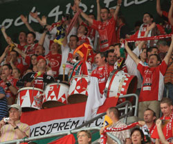The Veszprém fans will guarantee a full house in the new Arena