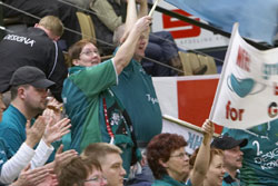 Viborg fans are not used to many defeats in Denmark