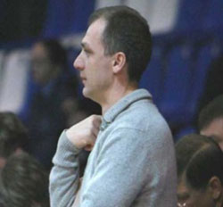 Lada coach, Alexey Gumyanov