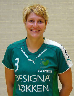 Anja Althaus in her new club's jersey