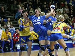 Bliznova against Hypo in the semi-final