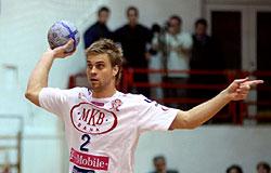 Former team mate, Dániel Buday