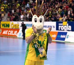 The mascot will have three exciting home matches in the Main Round