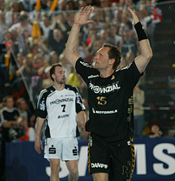Christiansen was in great form in the CL - finished second on the top scorer list