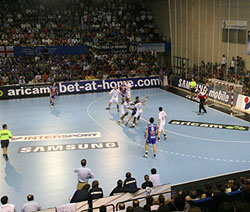 The Quijote Arena saw another big match between the two sides