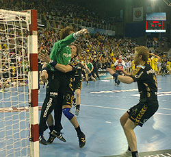 The greatest success last season: Flensburg made it to the final