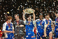 Karabatic got used to these moments with the French national team too