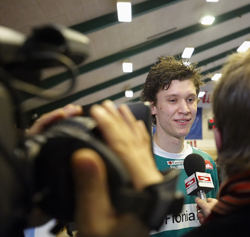 Landin has become known after the Szeged game