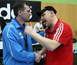 Müller congratulate Gumyanov in Nürnberg