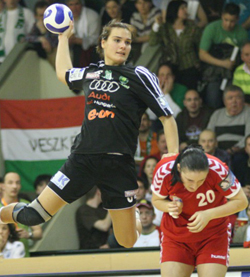 Vérten was impossible to stop in the first half