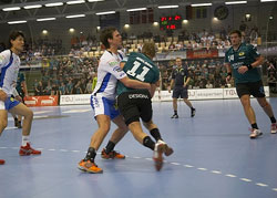 Lindberg had to fight and score six for the victory against Viborg