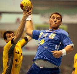 Drammen's Hykkerud scored five goals in the first leg