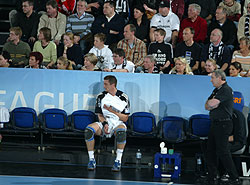 The Kiel bench was getting empty again with all the injuries bothering the team
