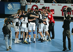 The German teams dominated last year - Kiel played the final against Flensburg