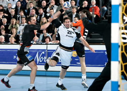 Karabatic was back to play against his former team