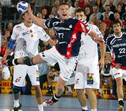 Knudsen scored 8, deserved the Norwegian shirt