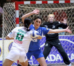 Görbicz was topscorer of her team once again