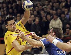 Lazarov is leader of the Macedonian national team as well