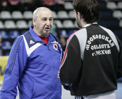 Coach Maximov can be satisfied with his team