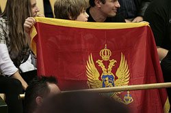 Montenegrin supporters escorted the team to Denmark - and they could be proud of Buducnost