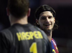 Reason to smile: Barcelona are in improving form