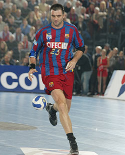 Perunicic in Barcelona, season 2006/07