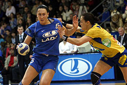 Postnova scored 11, she was the leader of Lada