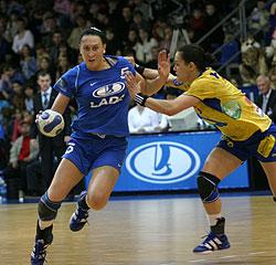 Postnova was the leader of Lada: 8 goals
