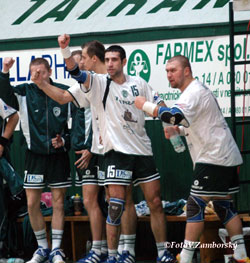 The picture is archive, but Presov could celebrate in the CL again after 2005